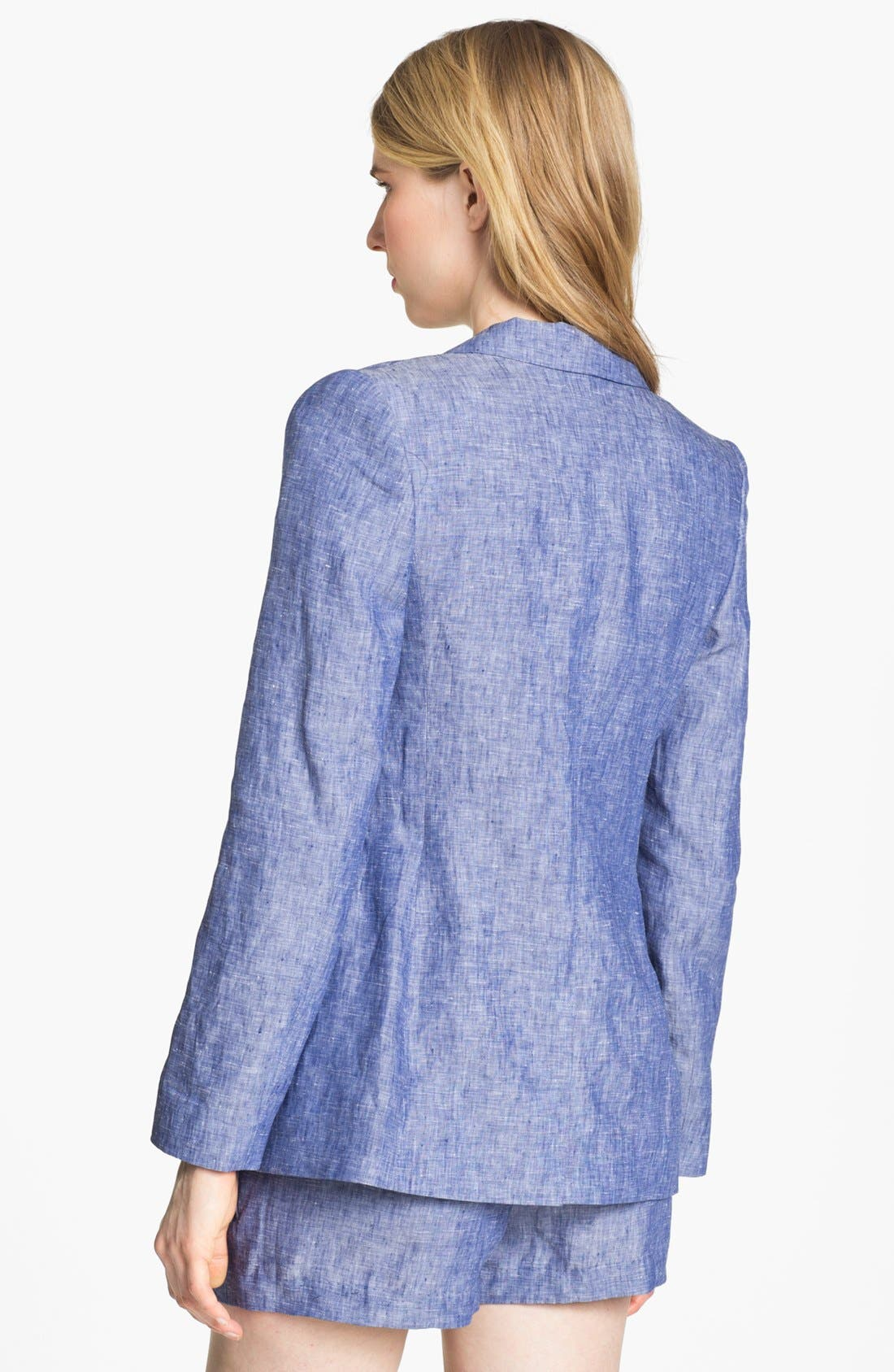 Alternate Image 2  - Joie 'Mehire A.' Chambray Blazer