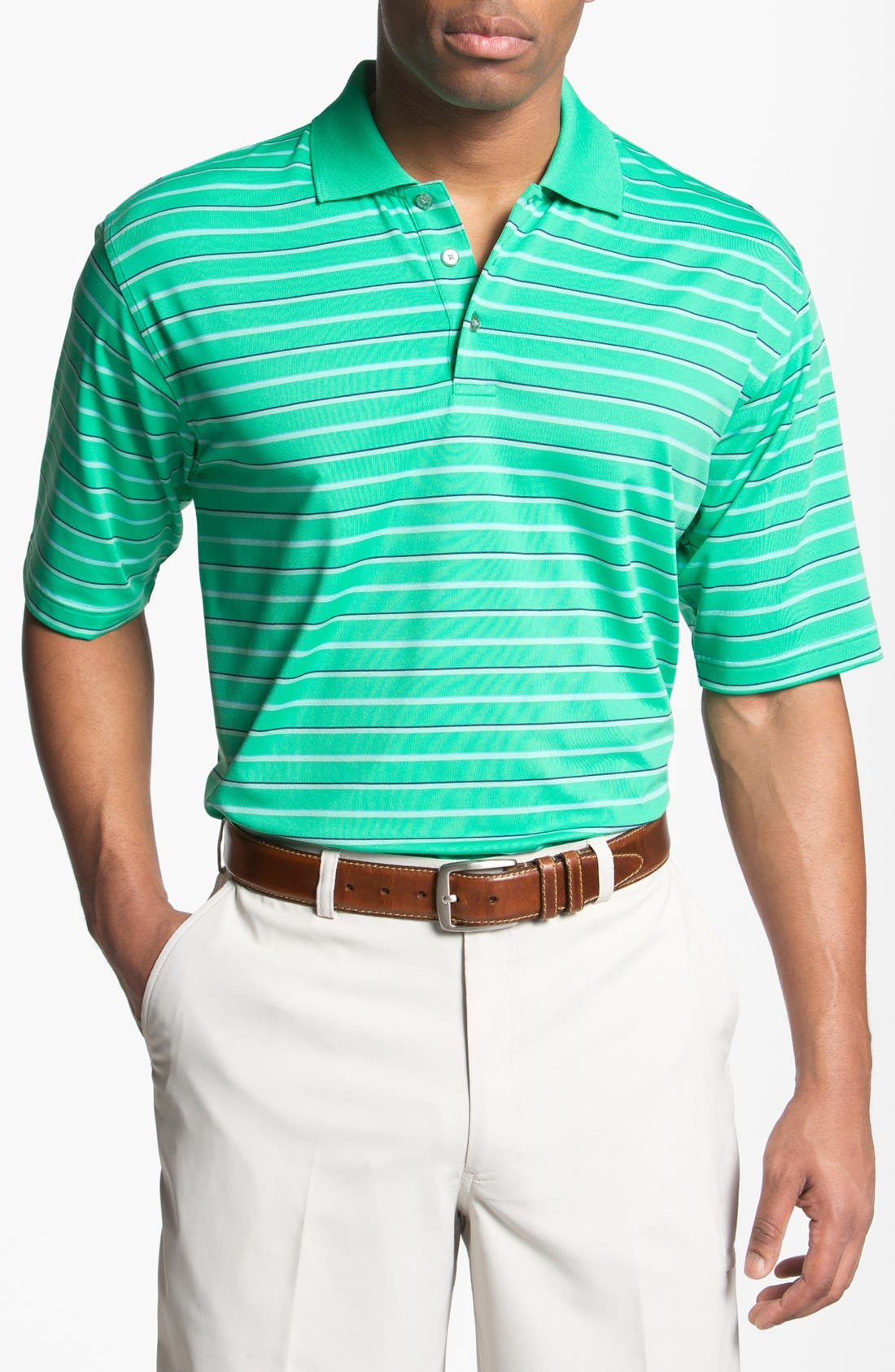 Main Image - Lone Cypress Pebble Beach Knit Polo