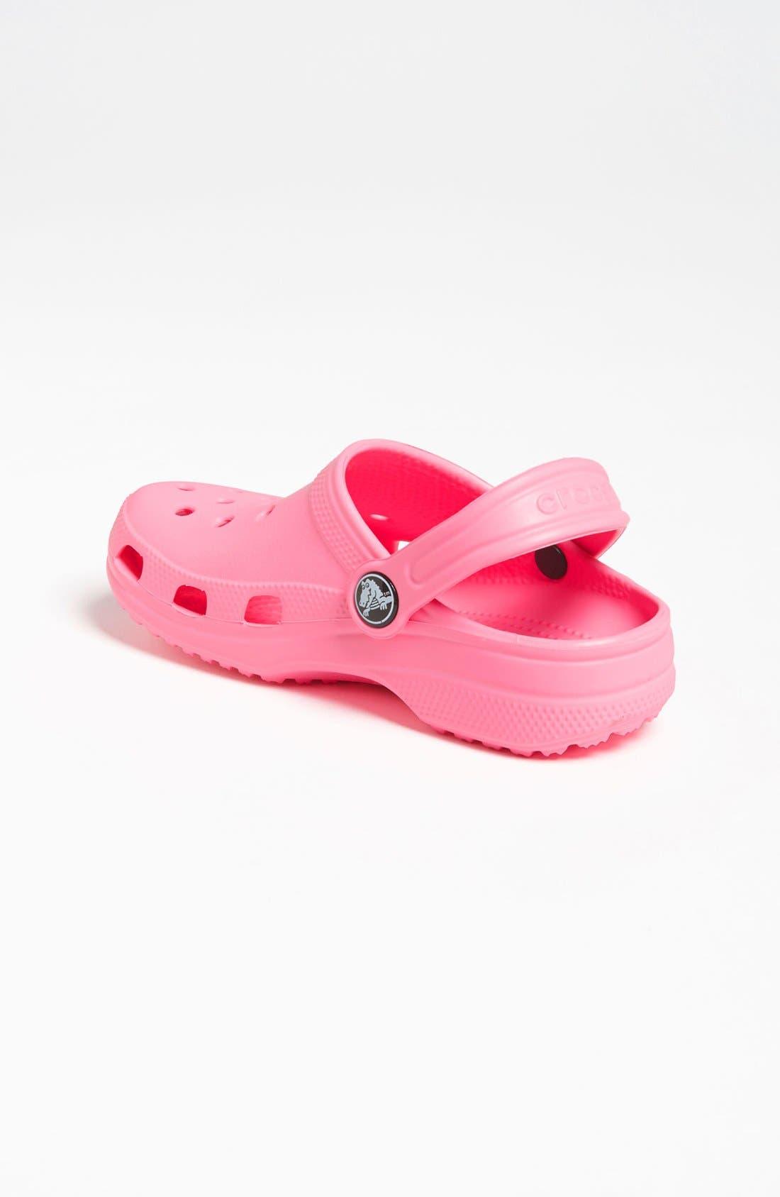 Alternate Image 2  - CROCS™ 'Classic Clog' Sandal (Walker, Toddler & Little Kid)