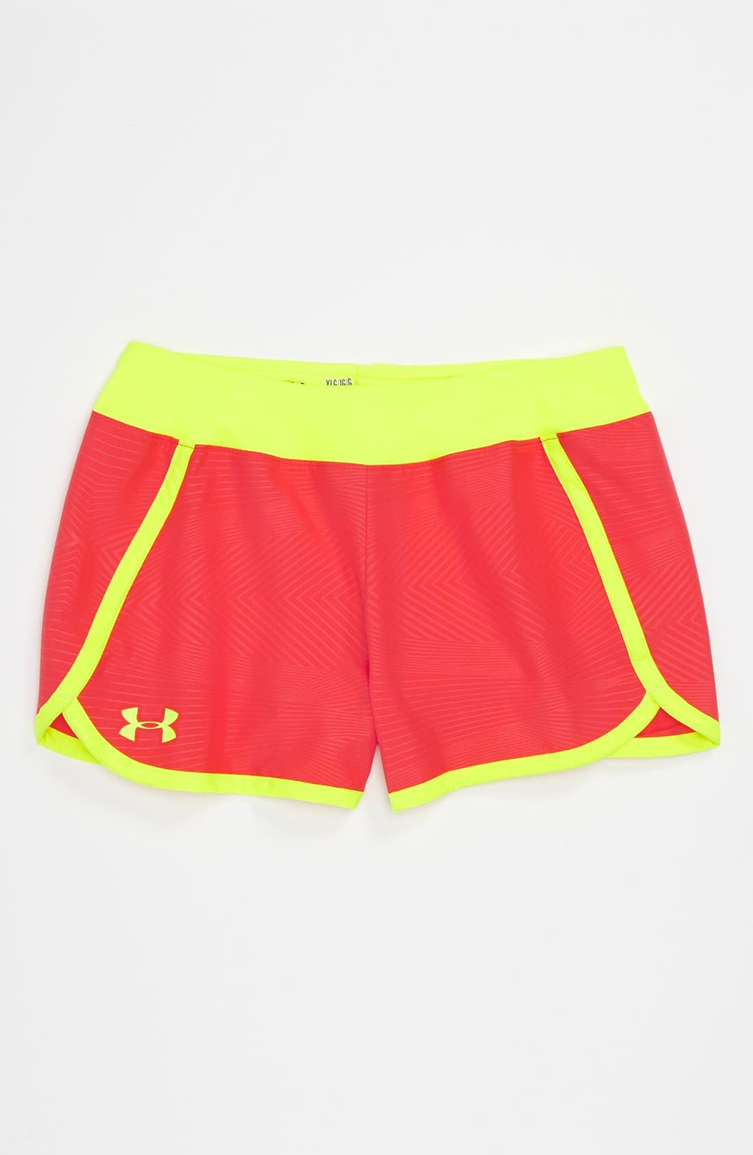 Alternate Image 1 Selected - Under Armour 'Rippin' Shorts (Big Girls)