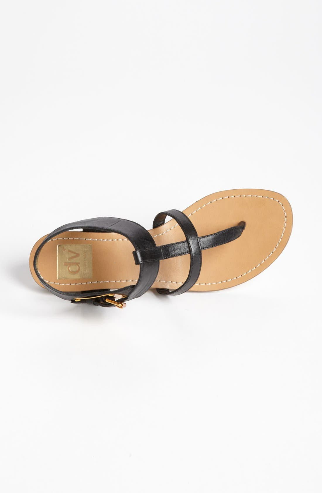 DV by Dolce Vita 'Hani' Sandal,                             Alternate thumbnail 3, color,                             Black