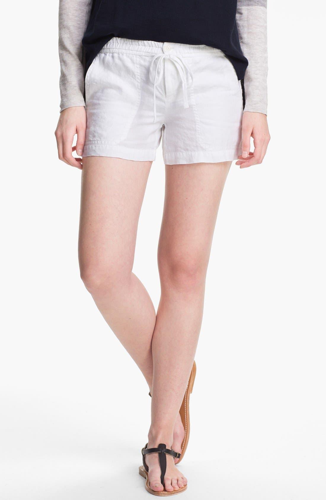 Alternate Image 1 Selected - Vince Linen Shorts