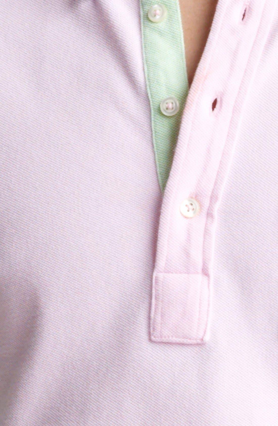 Alternate Image 3  - Polo Ralph Lauren Long Sleeve Mesh  Polo