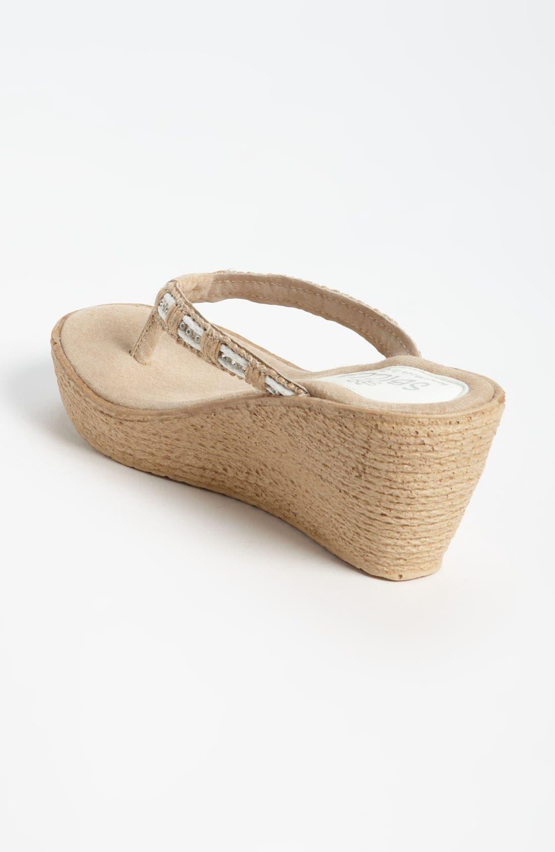 Alternate Image 2  - Sbicca 'Cora' Wedge Sandal