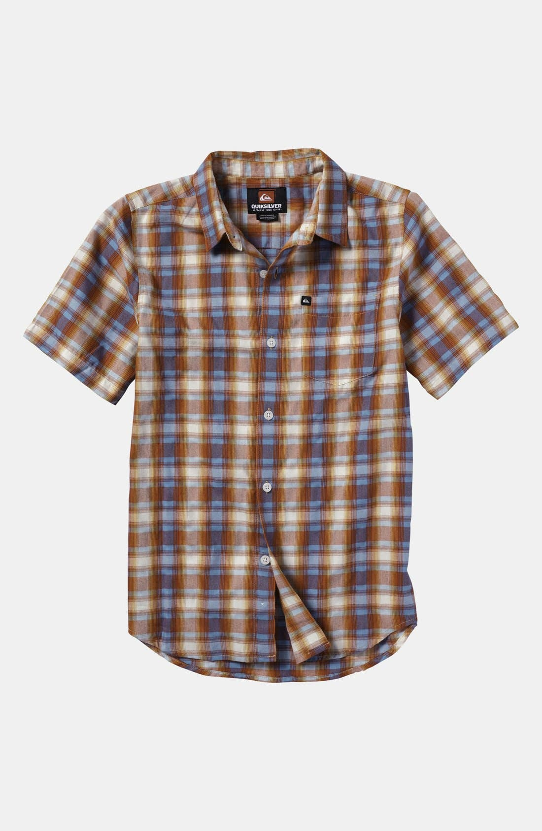 Alternate Image 1 Selected - Quiksilver 'Flash Surf' Woven Shirt (Toddler)