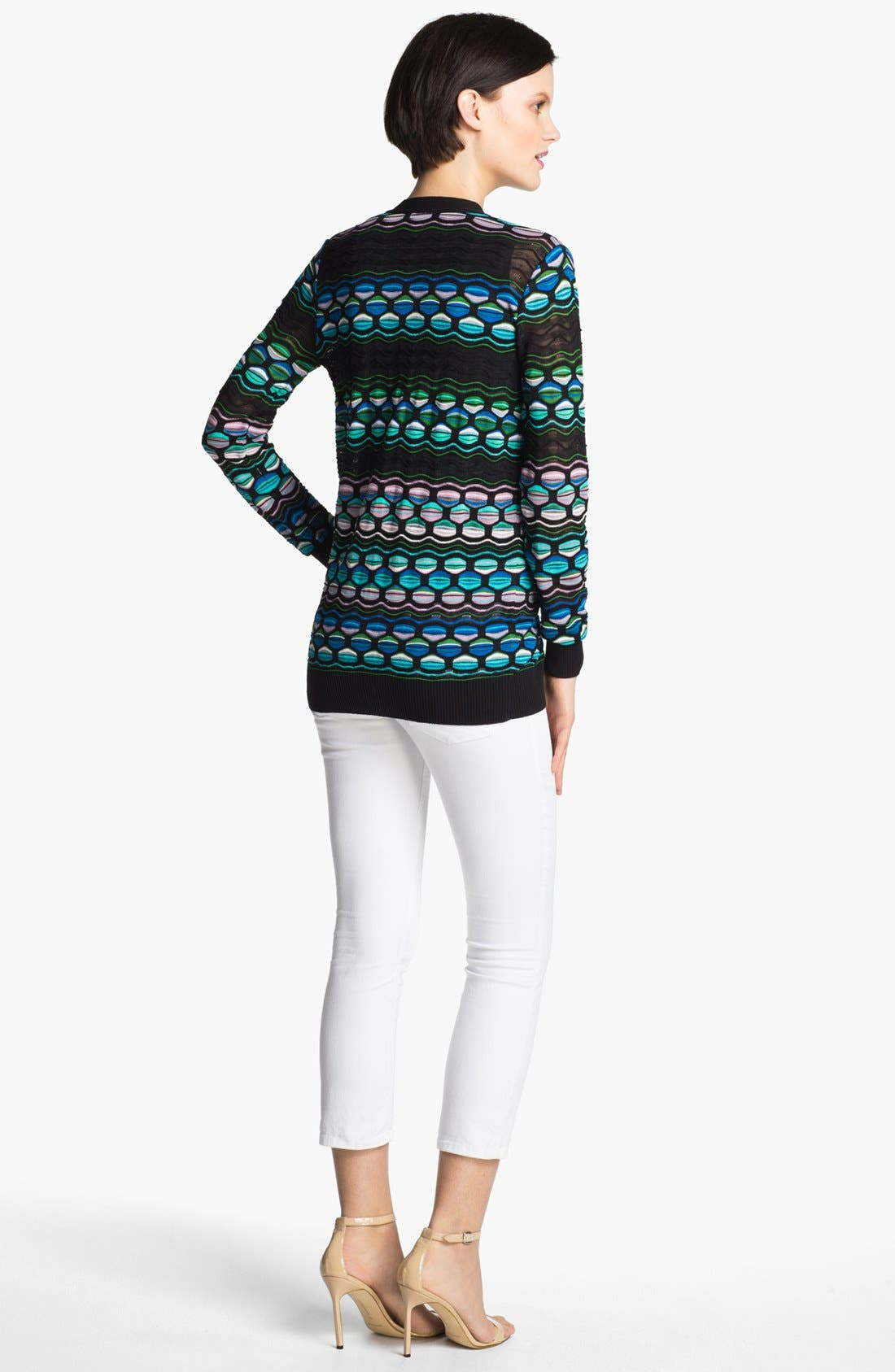 Alternate Image 2  - M Missoni Pucker Wave Cardigan
