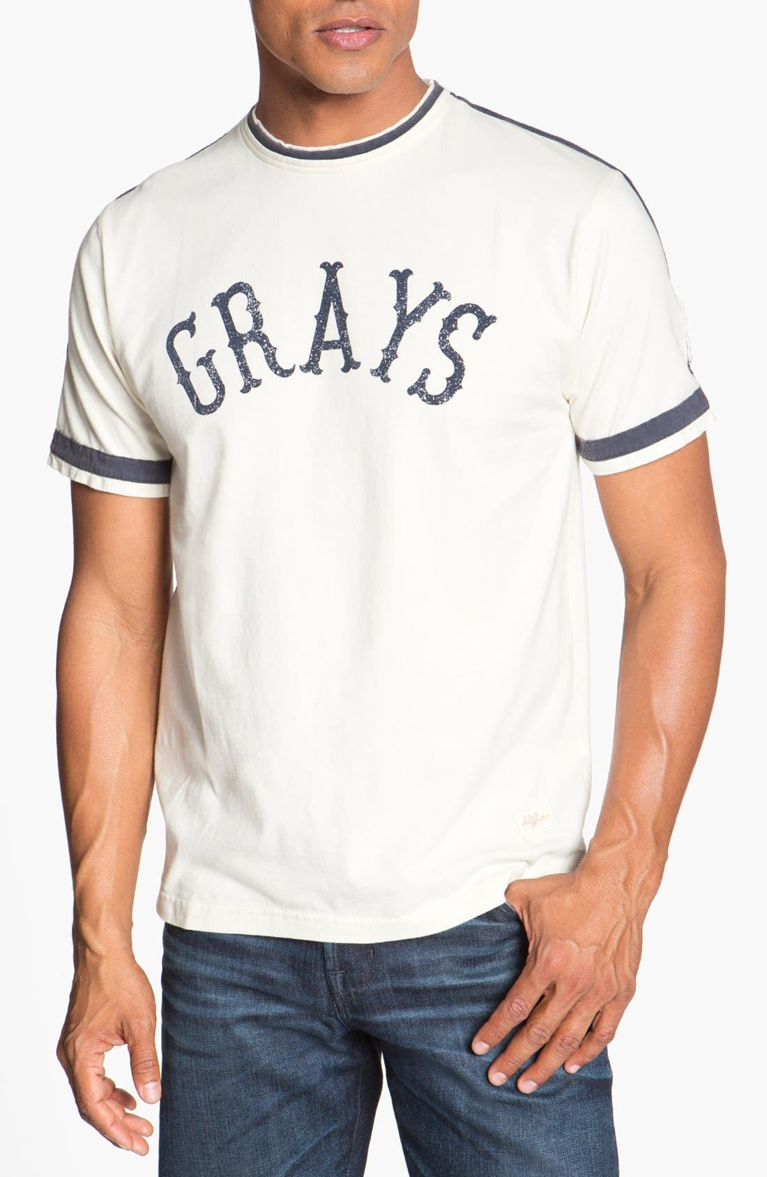 Alternate Image 1 Selected - Red Jacket 'Homestead Grays - Remote Control' T-Shirt