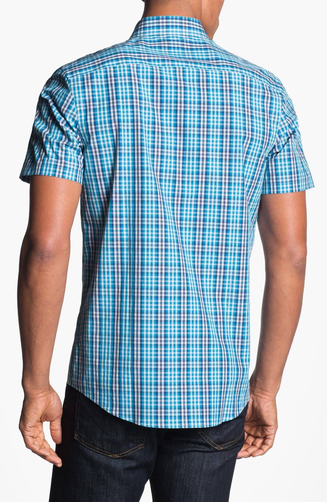 Alternate Image 2  - Calibrate Short Sleeve Sport Shirt