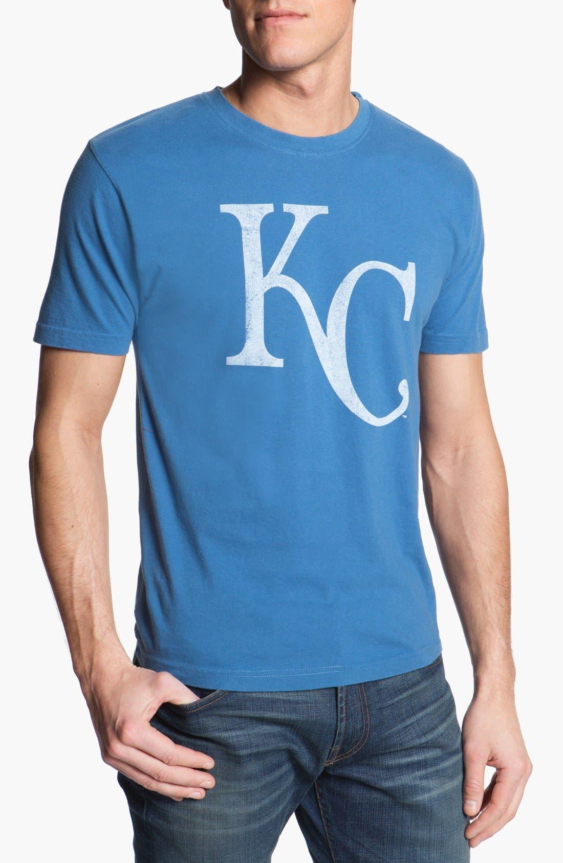 'Royals - Brass Tacks' T-Shirt,                             Main thumbnail 1, color,                             Royal