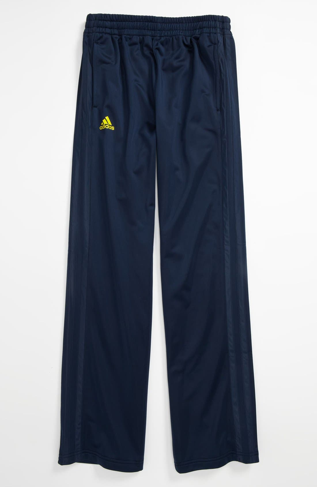 Alternate Image 1 Selected - adidas 'Fat Stripes' Basketball Pants (Big Boys)