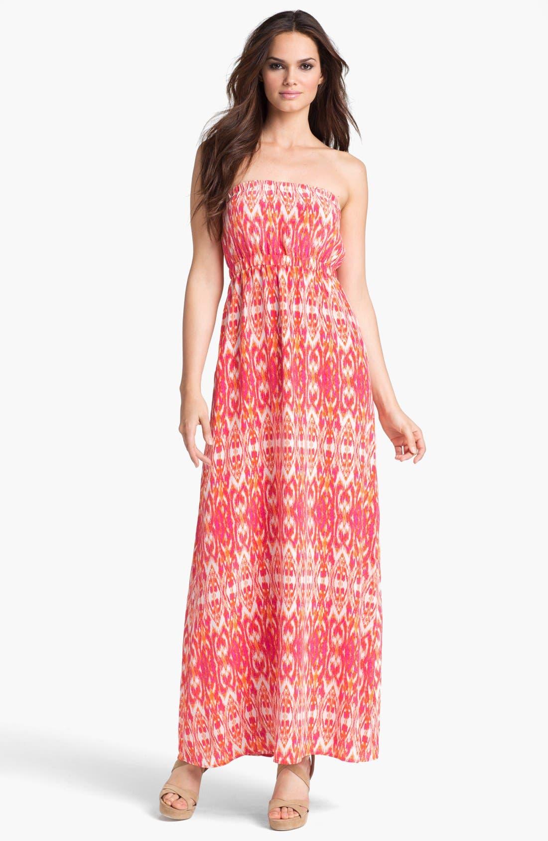 Alternate Image 1 Selected - Joie 'Ruma' Silk Maxi Dress