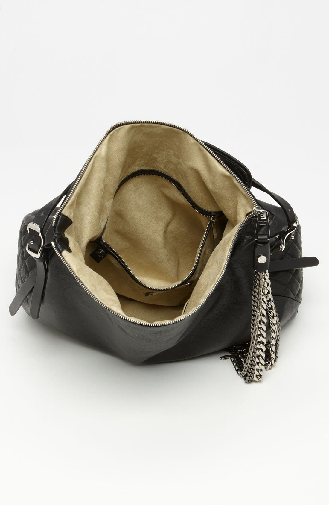 Alternate Image 3  - Jimmy Choo 'Large Boho' Leather Hobo