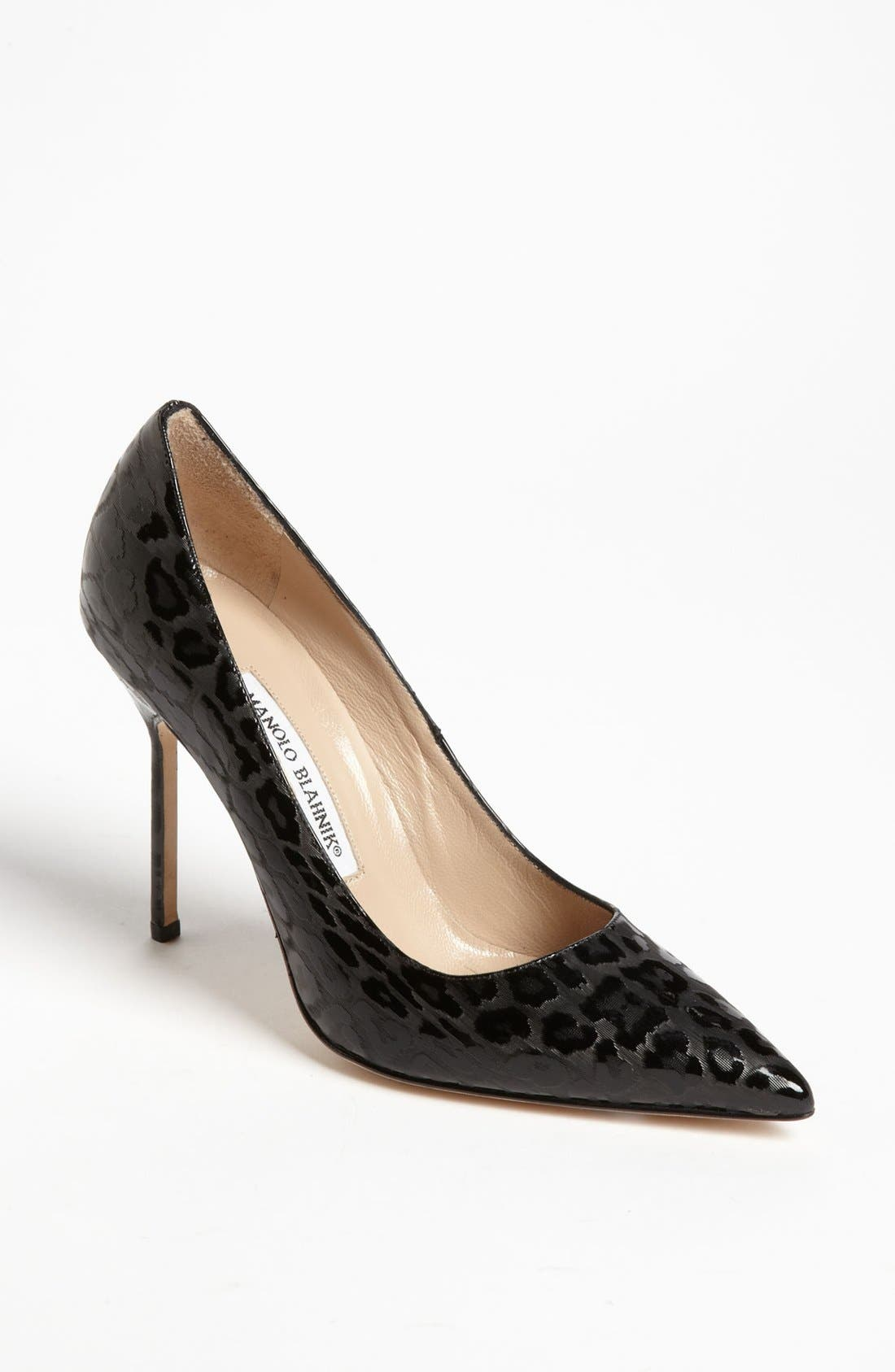 Alternate Image 1 Selected - Manolo Blahnik 'BB Leopard' Pump