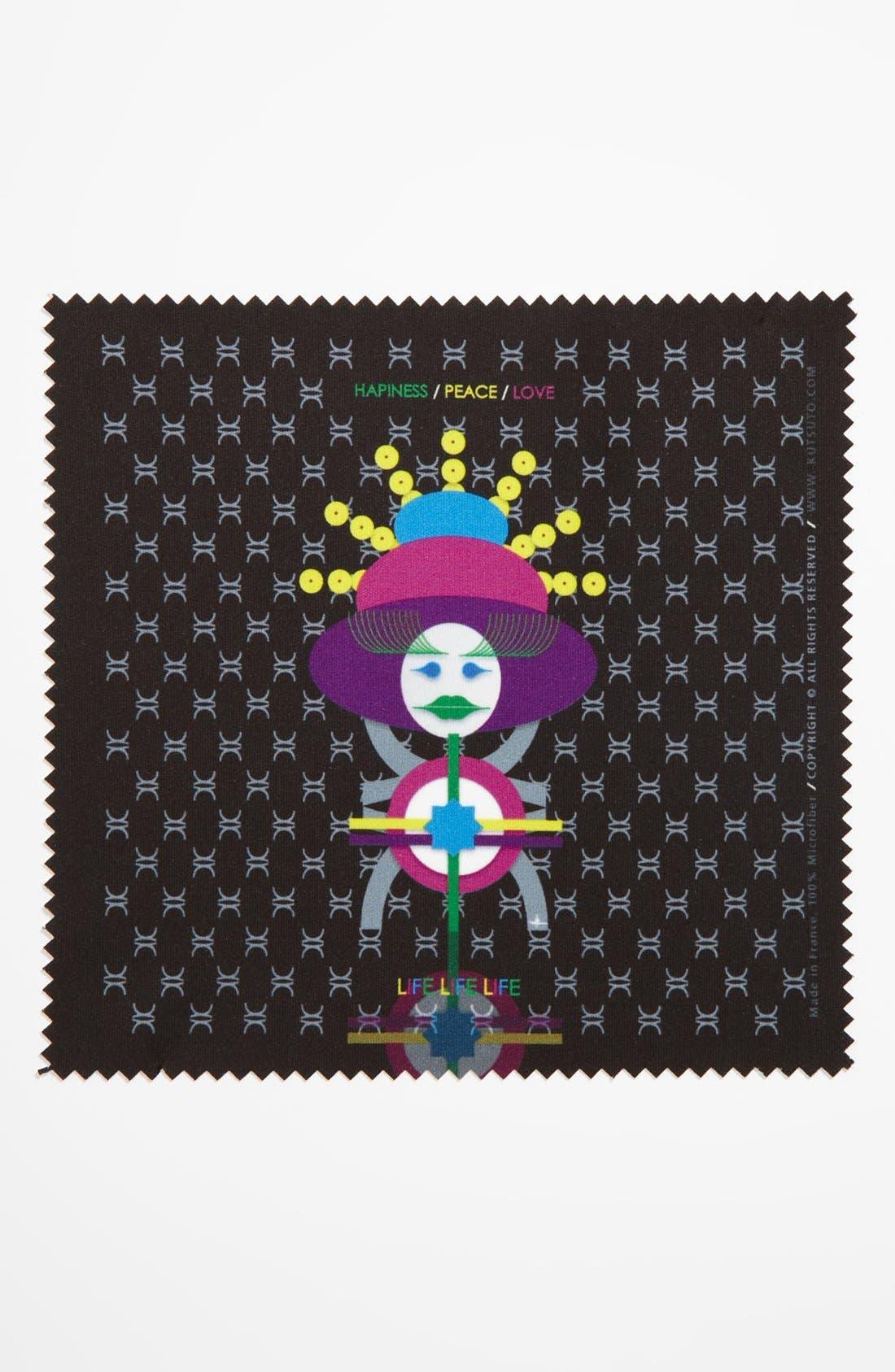 Alternate Image 1 Selected - KUTSUTO 'Kutsinette - Life Life Life' Microfiber Cloth