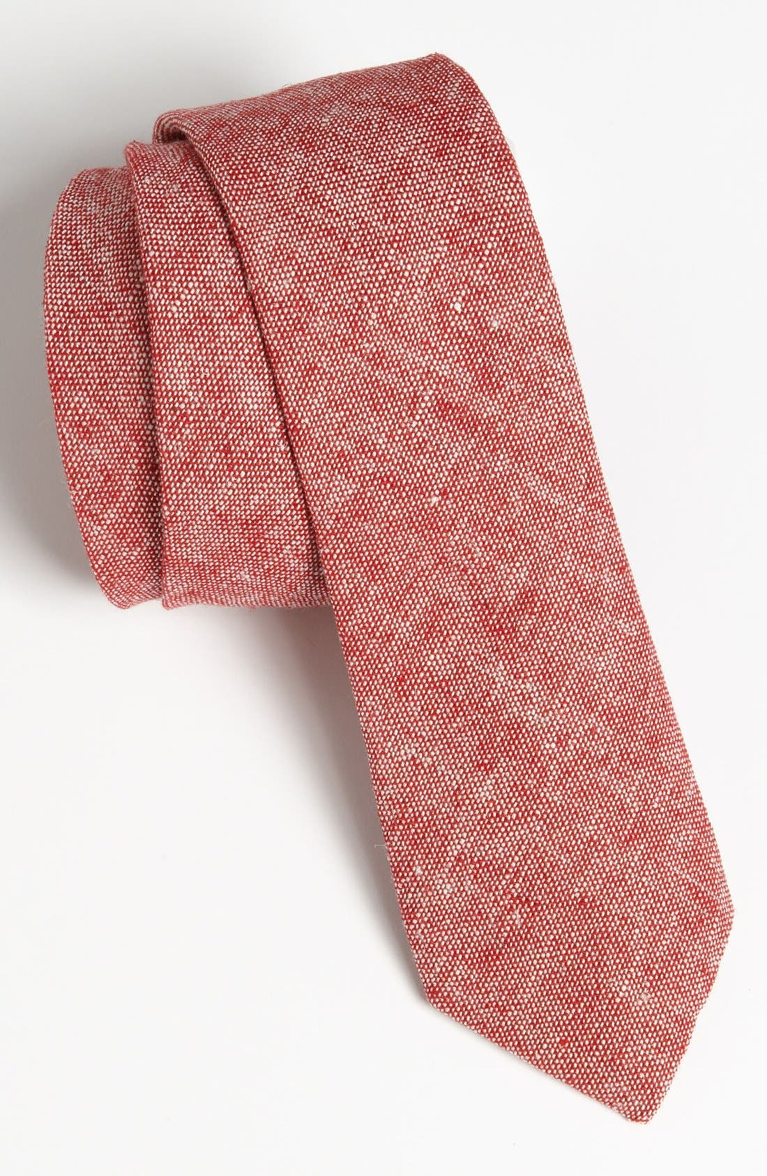Main Image - Topman Chambray Tie