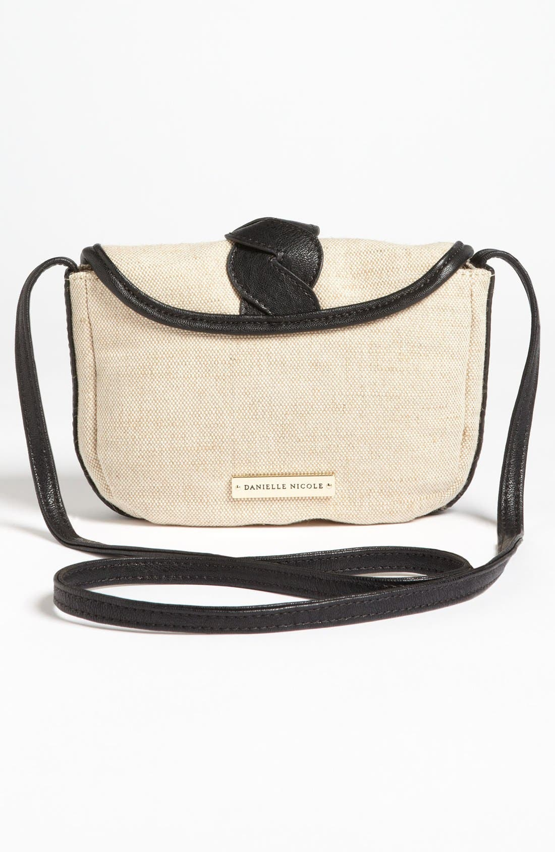 Alternate Image 4  - Danielle Nicole 'Nola' Canvas Crossbody Bag