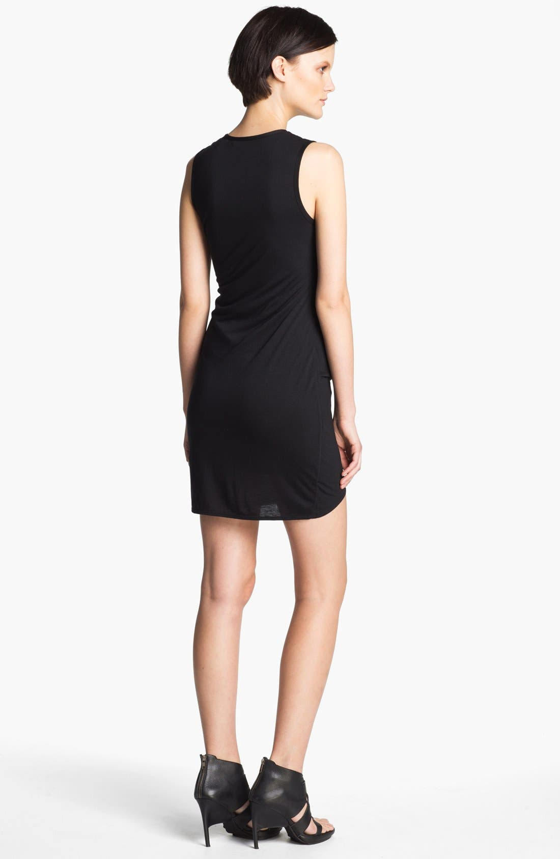 Alternate Image 2  - HELMUT Helmut Lang 'Kinetic' Draped Jersey Dress