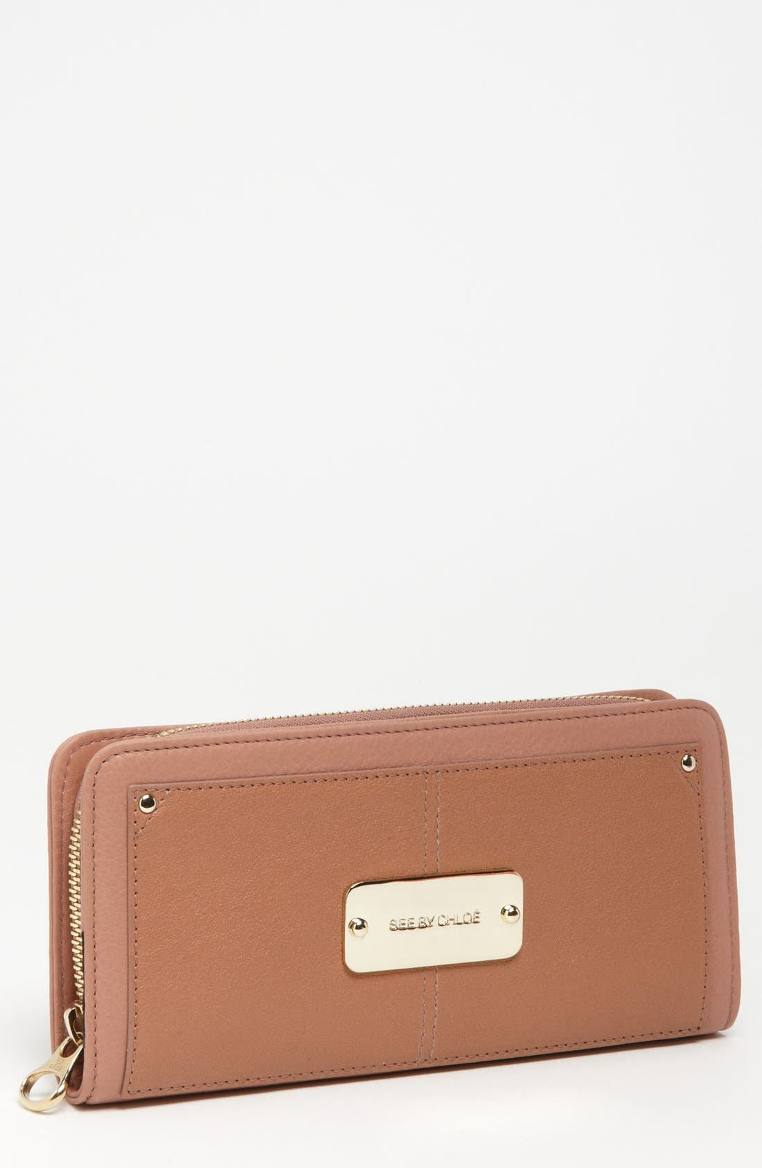 Main Image - See by Chloé 'Nellie' Continental Wallet