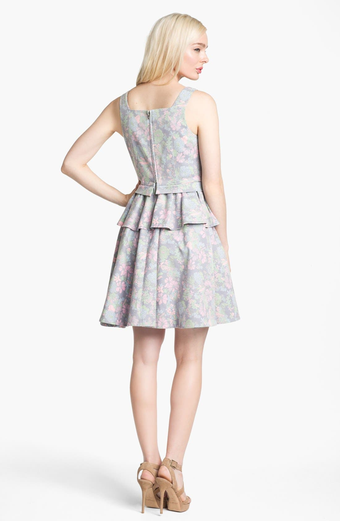 Alternate Image 2  - MARC BY MARC JACOBS 'Drew Blossom' Stretch Fit & Flare Dress