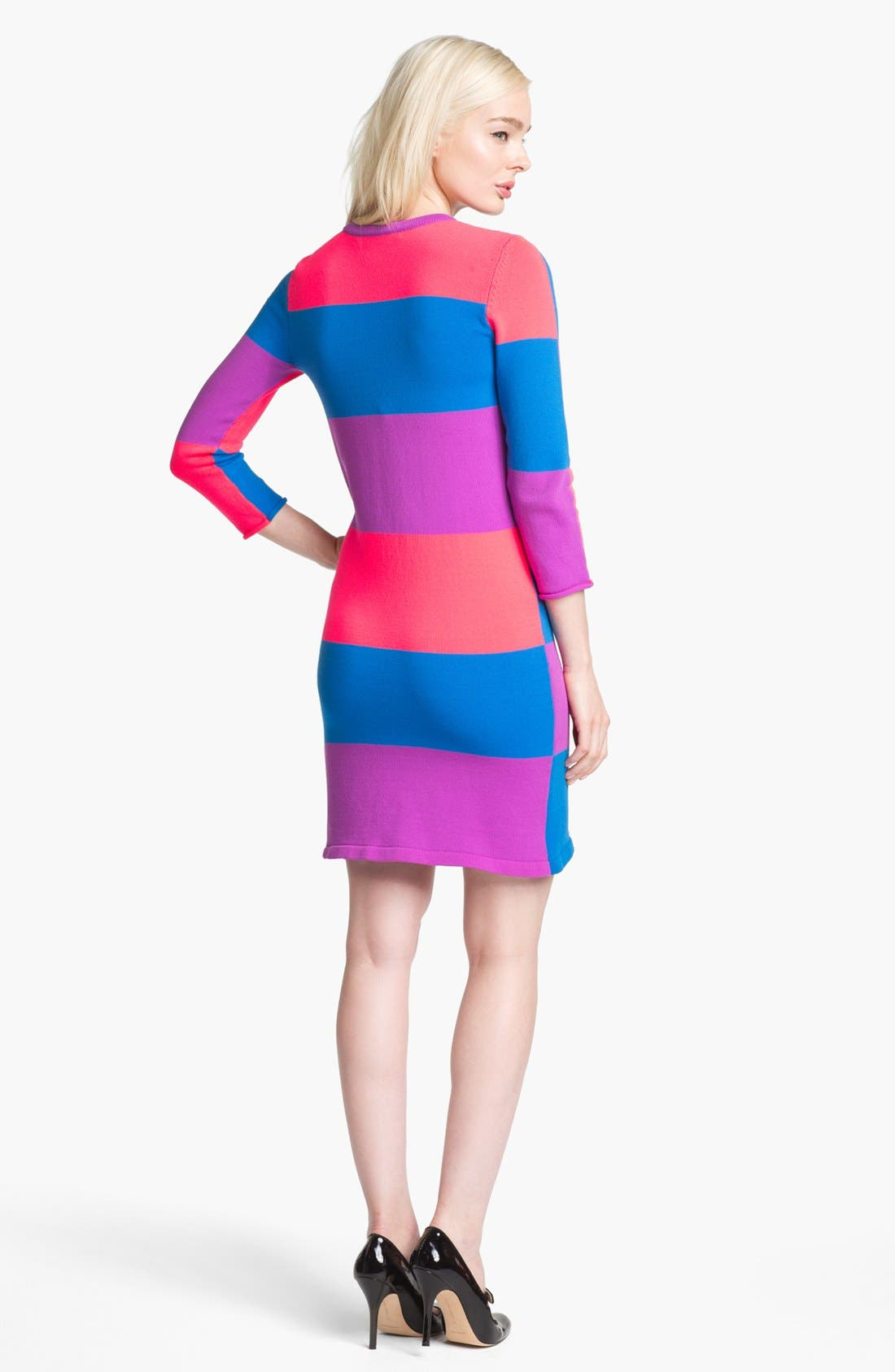 Alternate Image 2  - MARC BY MARC JACOBS 'Elise' Colorblock Sweater Dress
