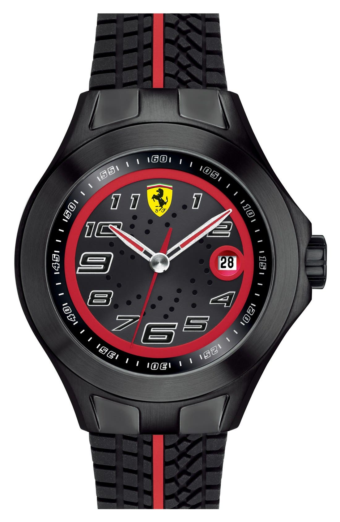 Alternate Image 1 Selected - Scuderia Ferrari 'Race Day' Watch, 44mm
