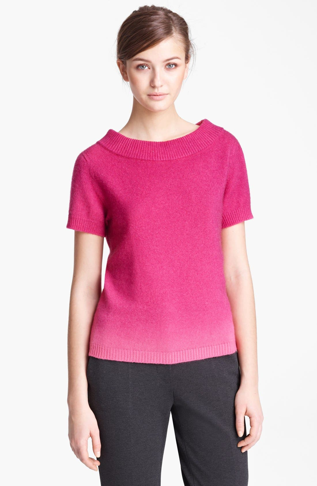 Alternate Image 1 Selected - Max Mara Ombré Cashmere Sweater