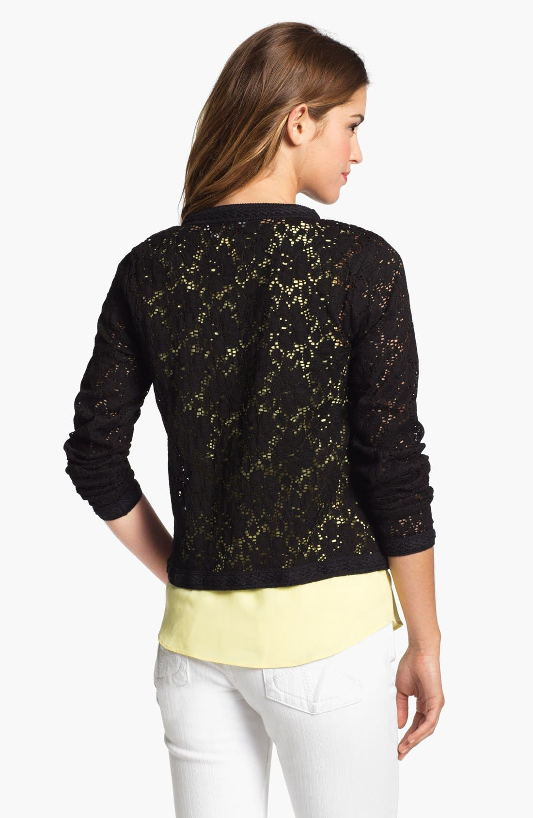 Alternate Image 2  - Research & Design Lace Jacket (Online Only)