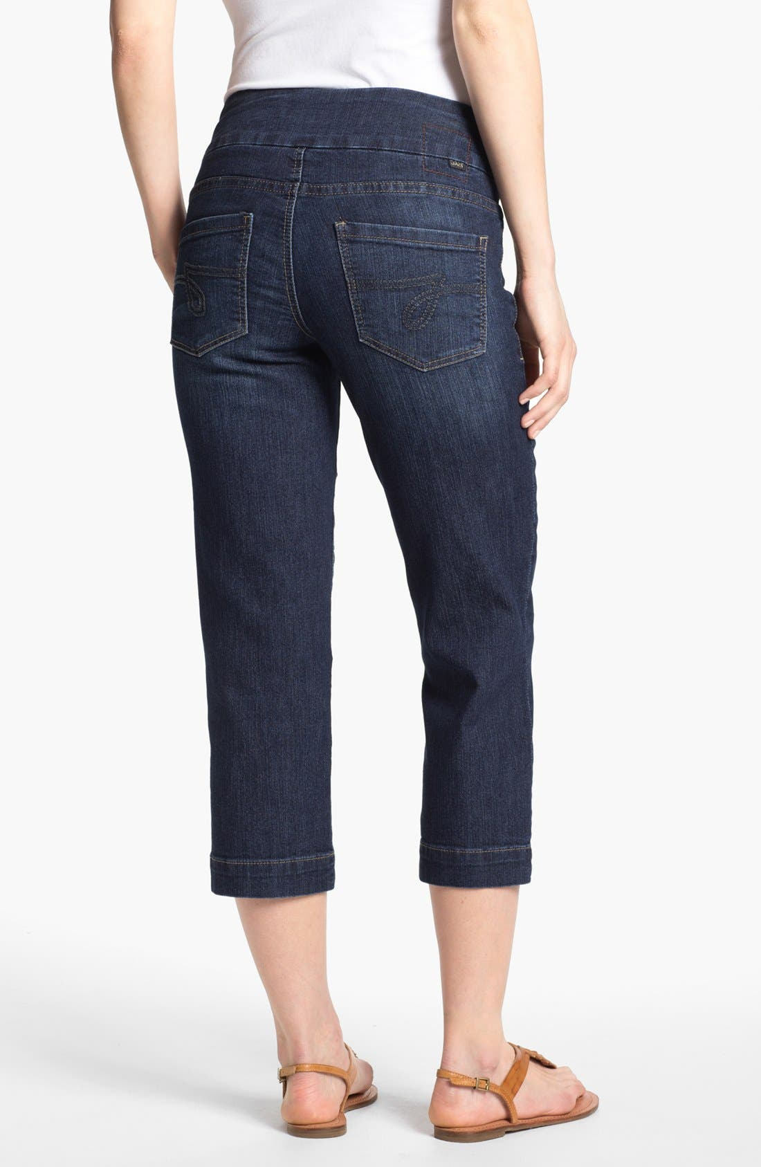 Alternate Image 2  - Jag Jeans 'Fenmore' Crop Stretch Jeans