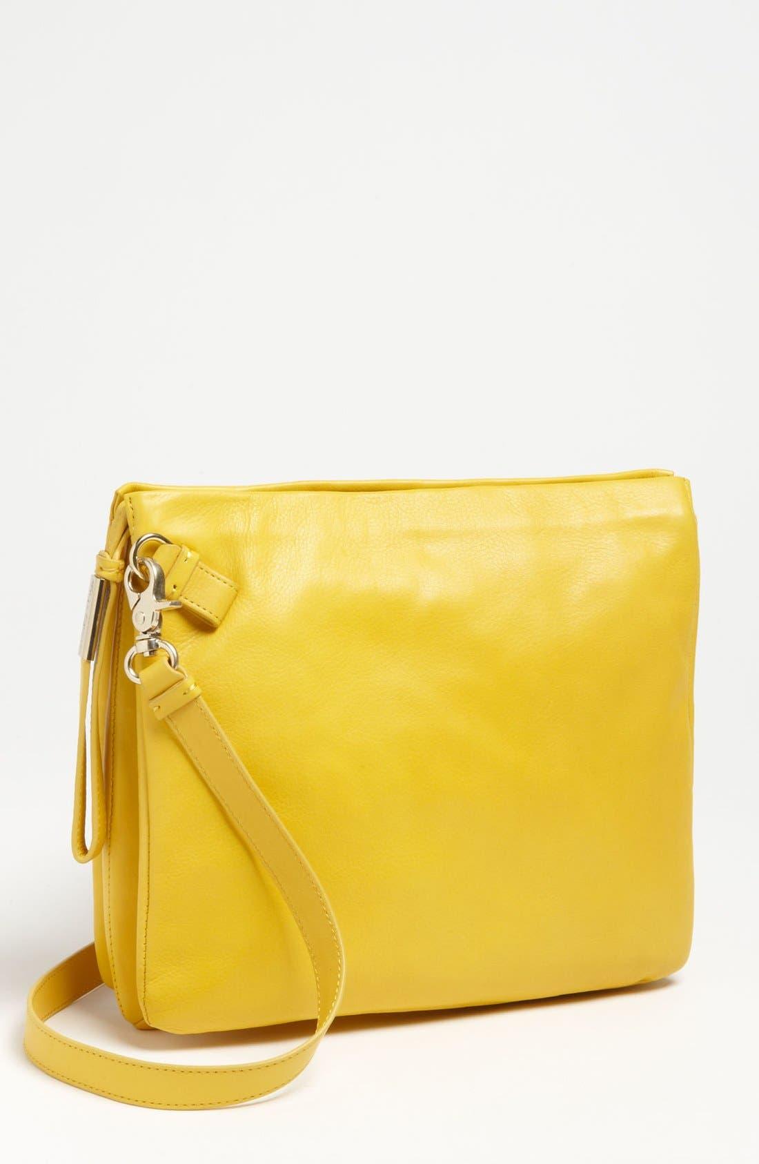 Main Image - Foley + Corinna 'iPad Cache' Leather Crossbody Bag