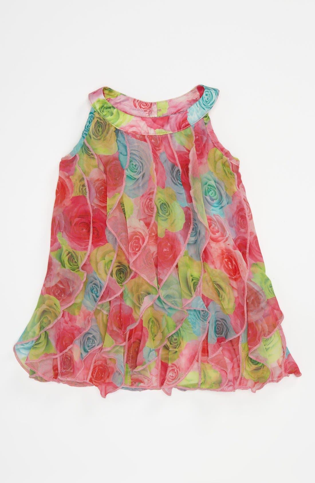Alternate Image 1 Selected - Biscotti Ruffle Dress (Baby)