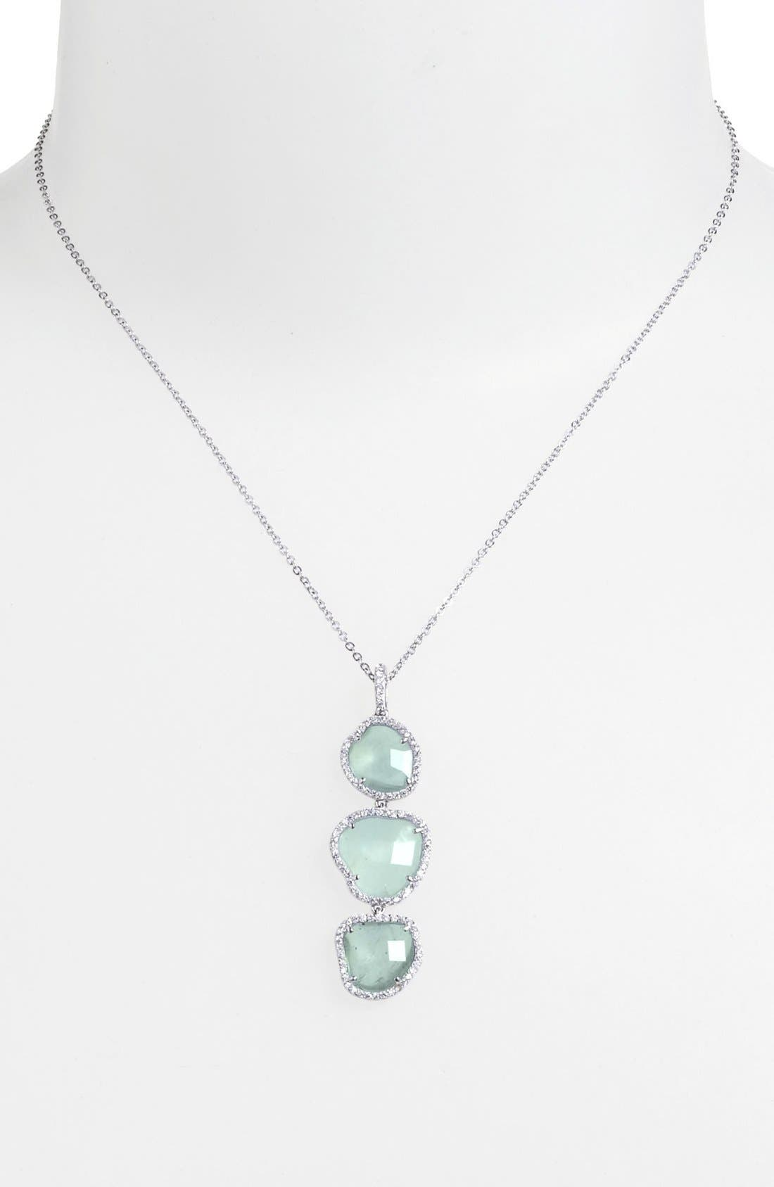 Alternate Image 1 Selected - Nadri Pendant Necklace (Nordstrom Exclusive)