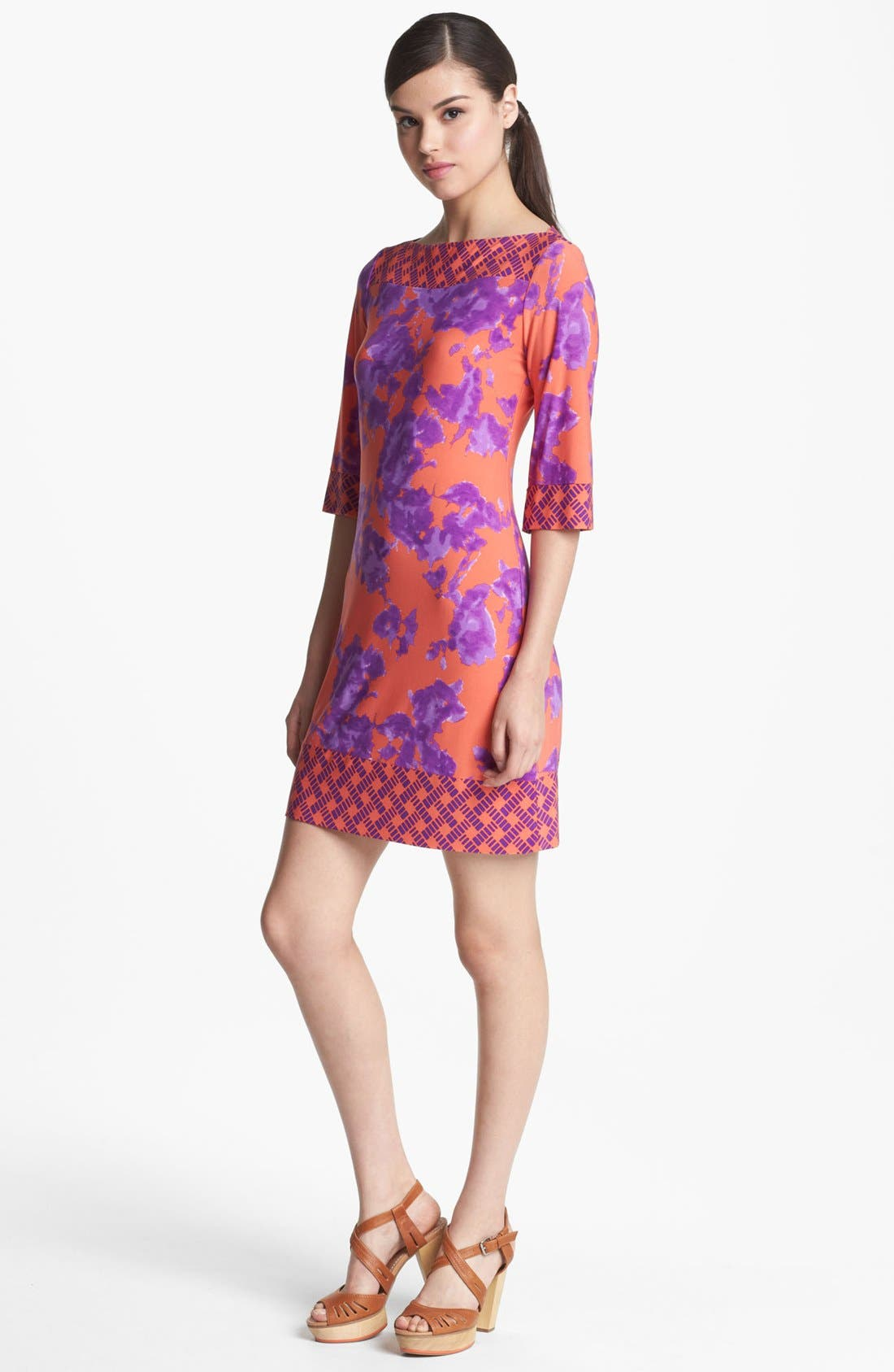 Alternate Image 1 Selected - Donna Morgan Print Shift Dress