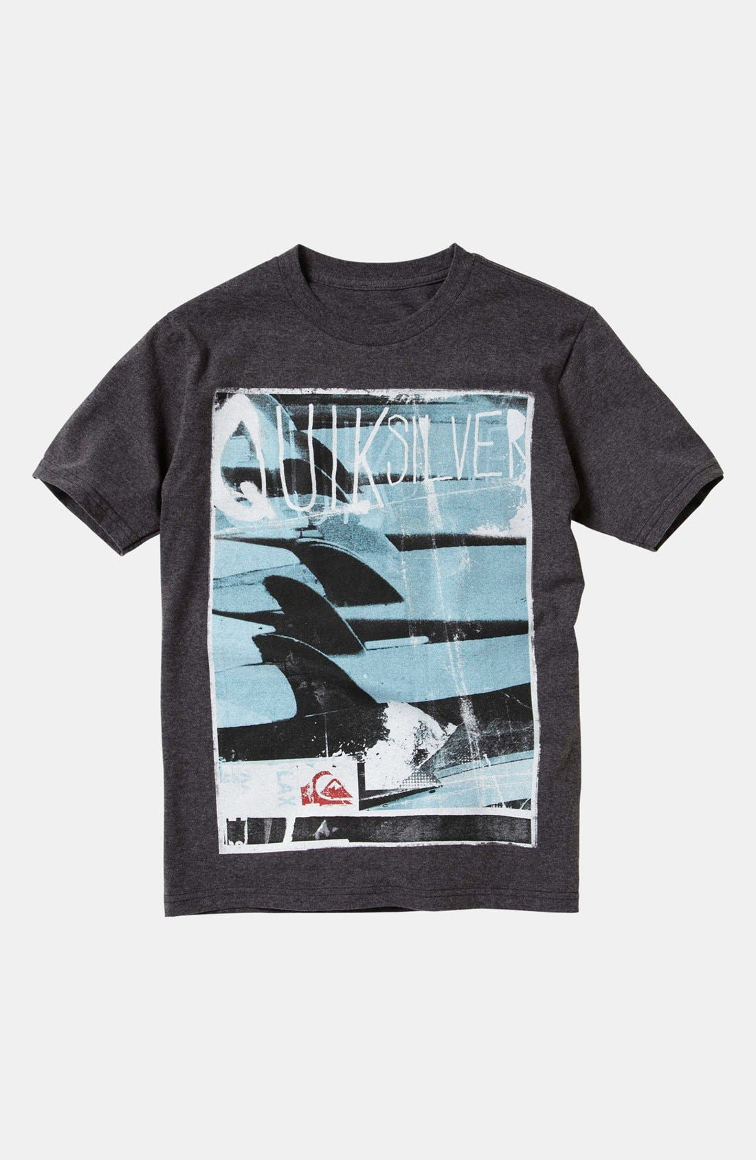 Alternate Image 1 Selected - Quiksilver 'Troops' T-Shirt (Big Boys)