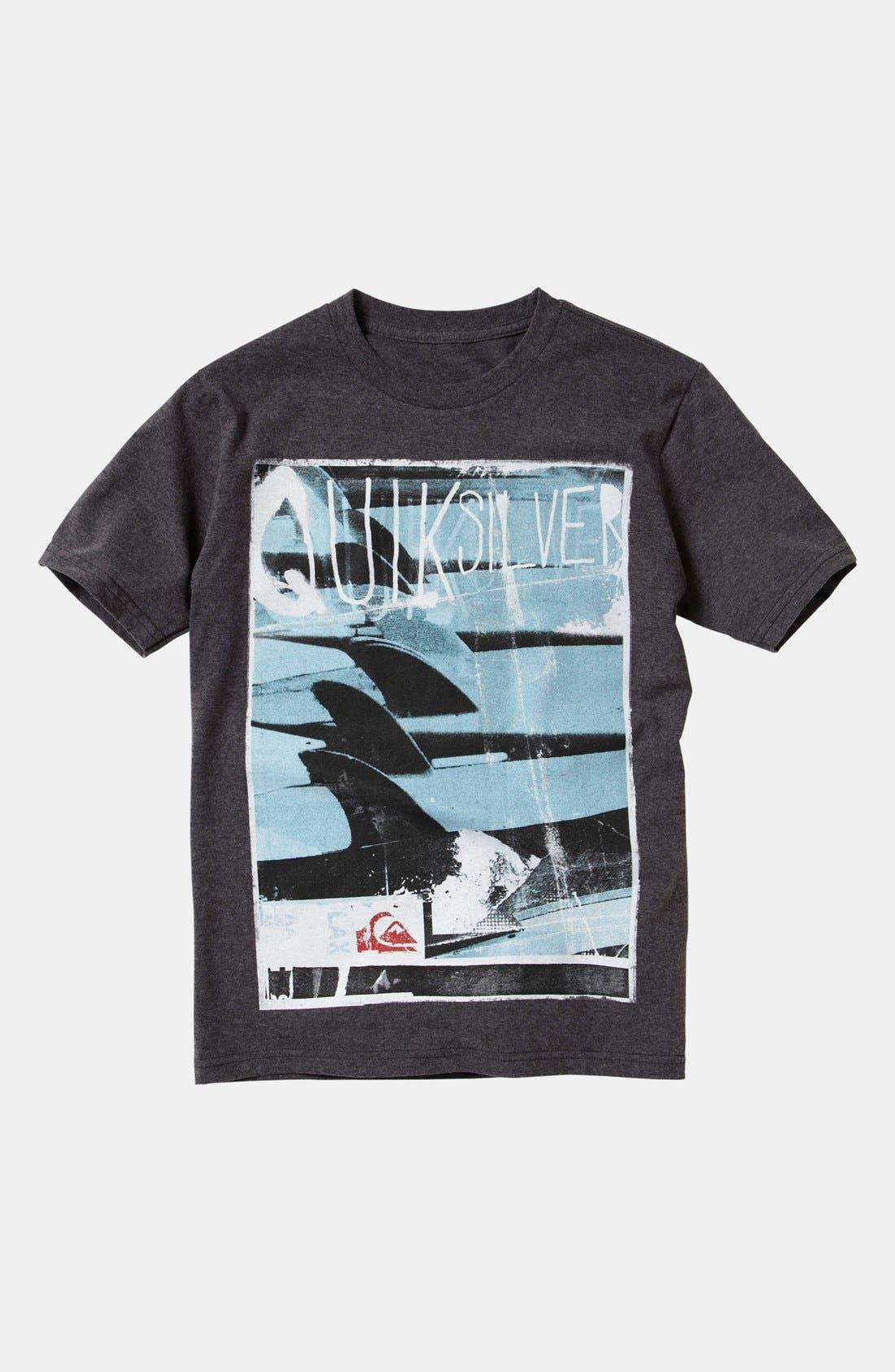 Main Image - Quiksilver 'Troops' T-Shirt (Big Boys)