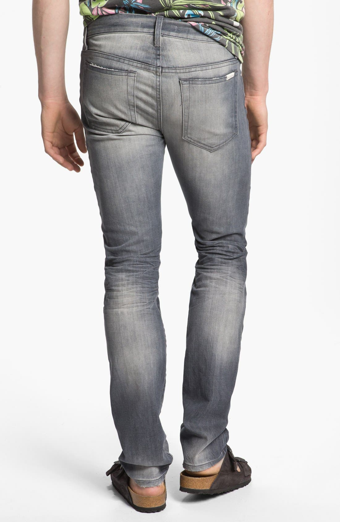 Main Image - Joe's 'Slim' Skinny Fit Selvedge Jeans (Briggs)