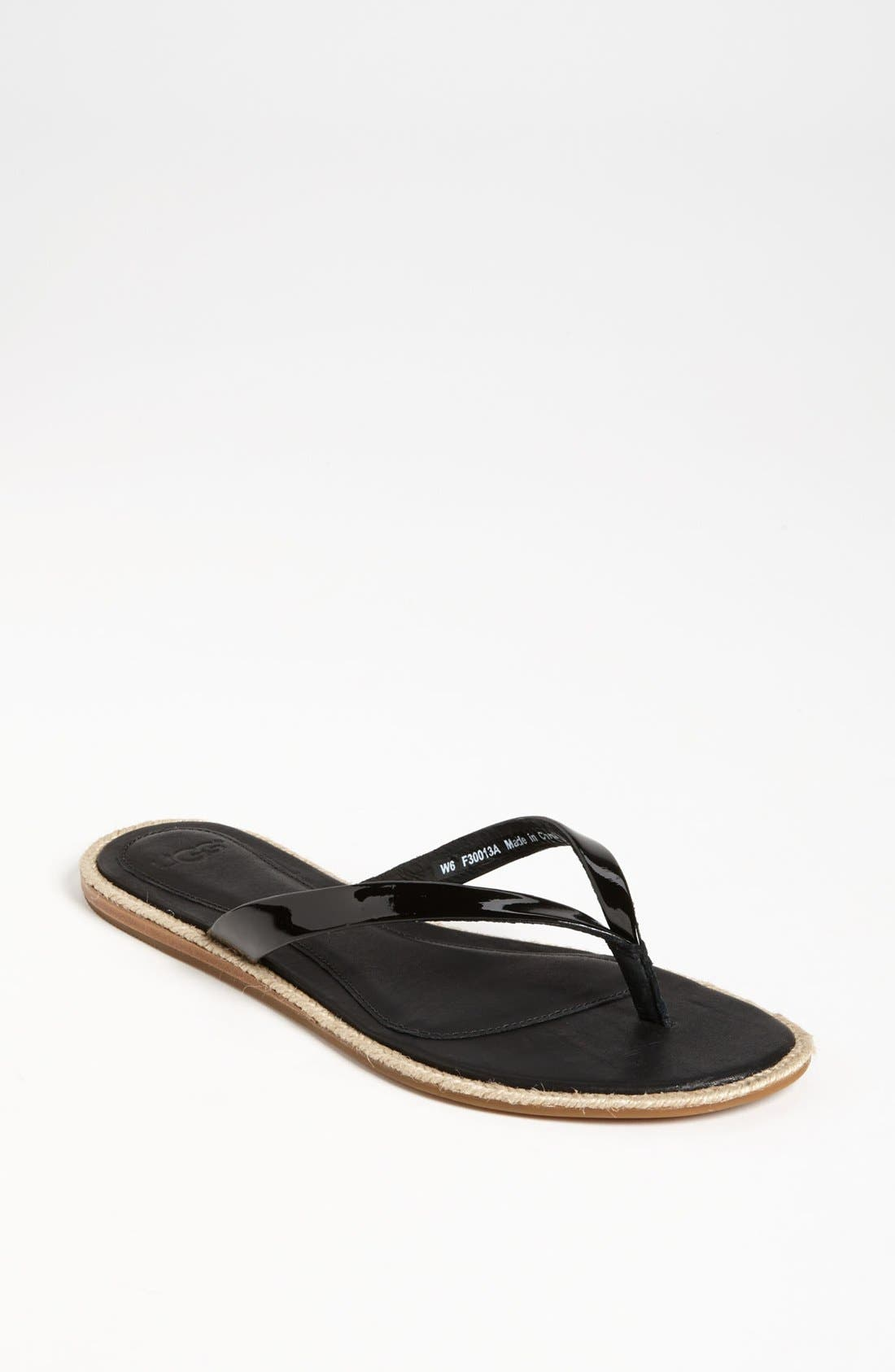 Alternate Image 1 Selected - UGG® Australia 'Allaria' Flip Flop (Women)