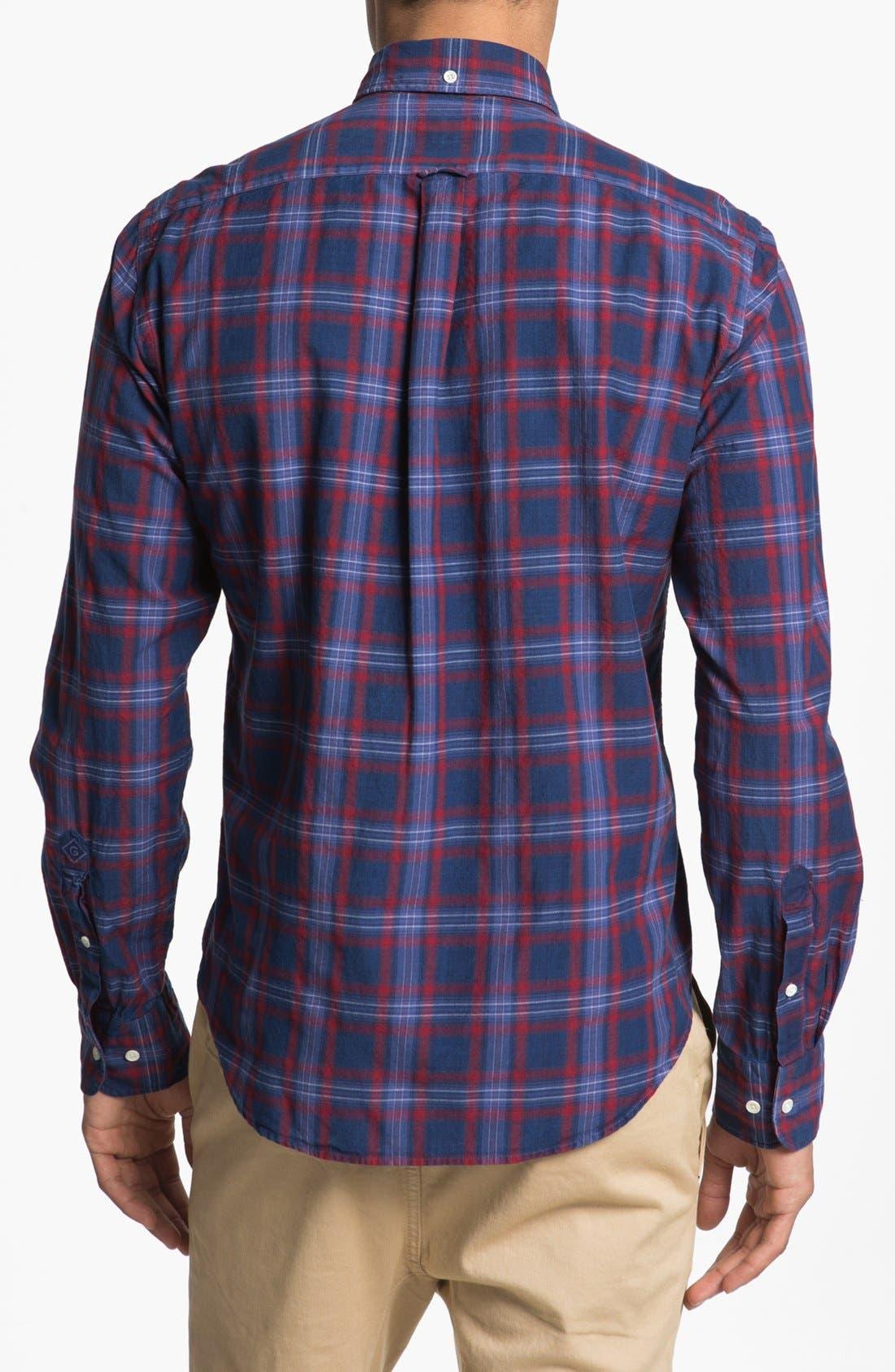 Alternate Image 3  - Gant Rugger Check Plaid Shirt