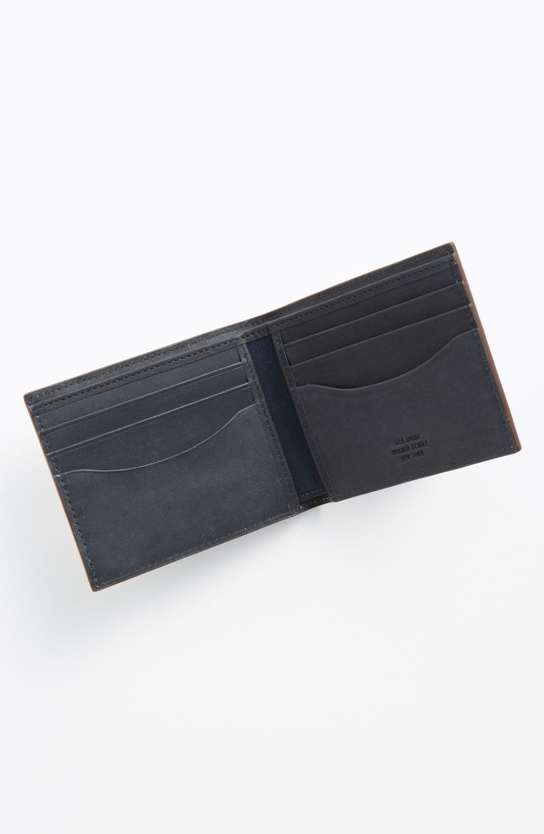 Alternate Image 3  - Jack Spade Herringbone Wallet