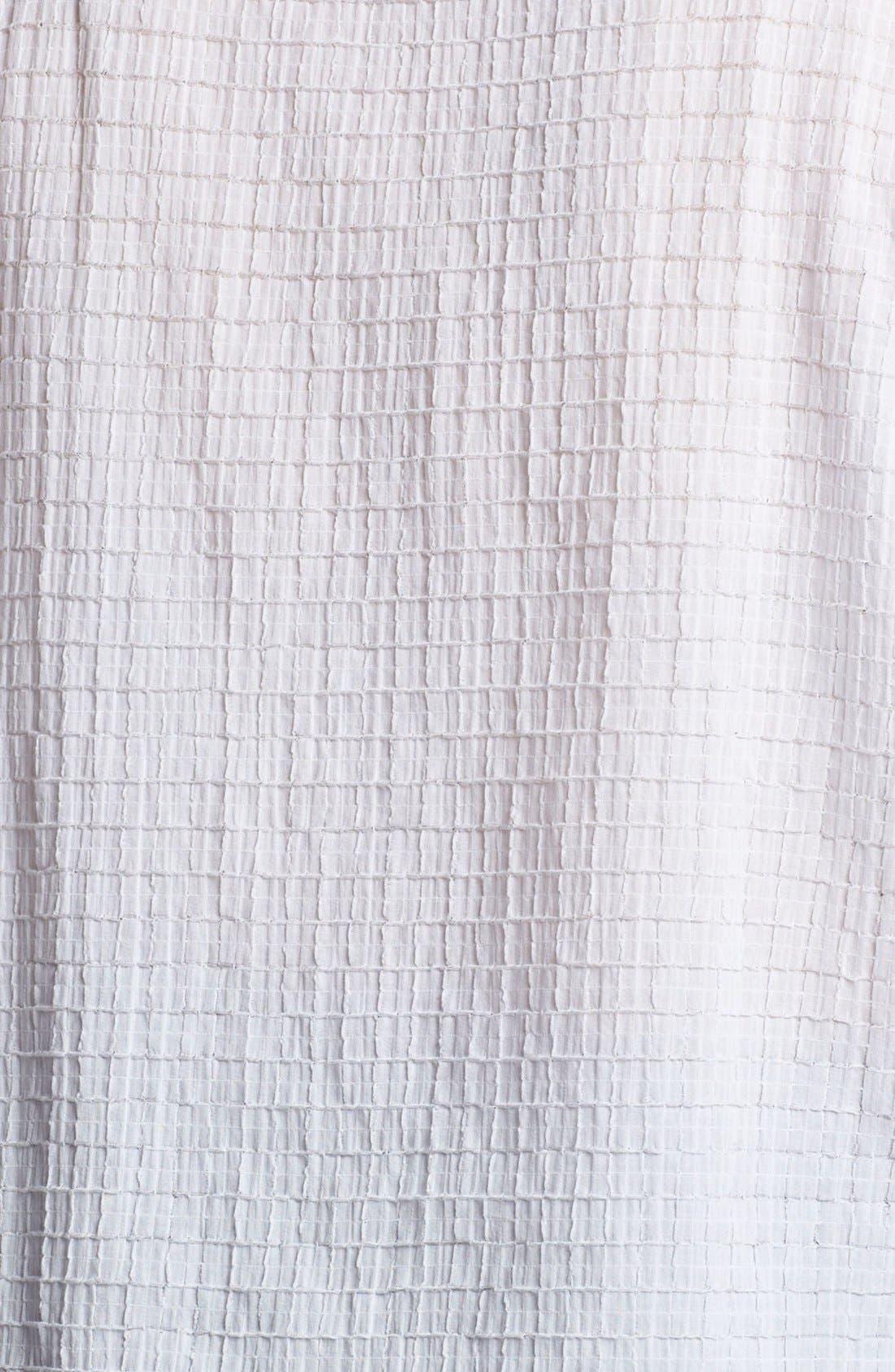 Alternate Image 2  - Eileen Fisher Cap Sleeve Top (Plus Size)