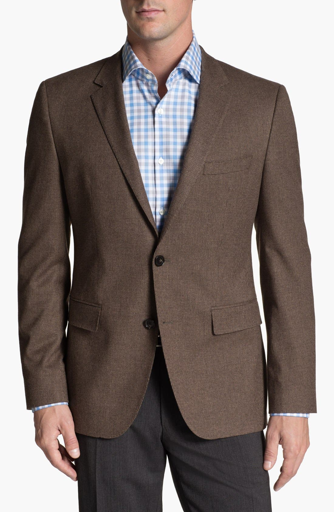 Alternate Image 1 Selected - BOSS Black Sportcoat & Bonobos Twill Chinos