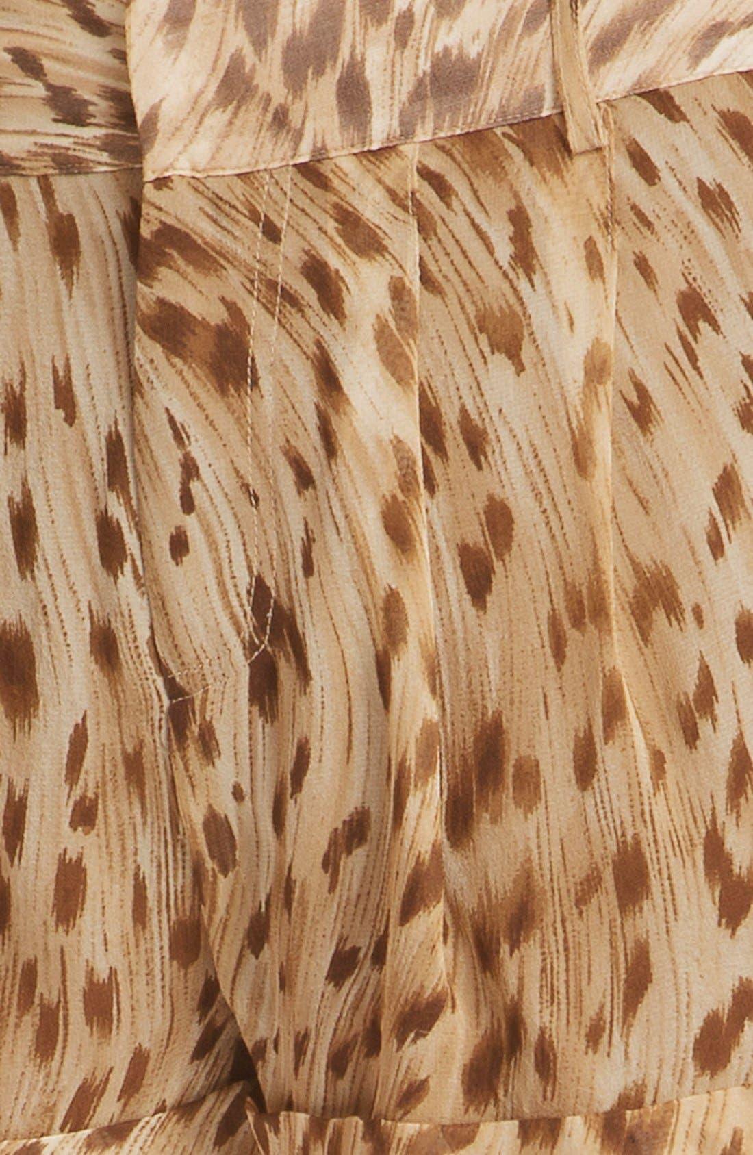 Alternate Image 3  - Haute Hippie Leopard Print Shorts