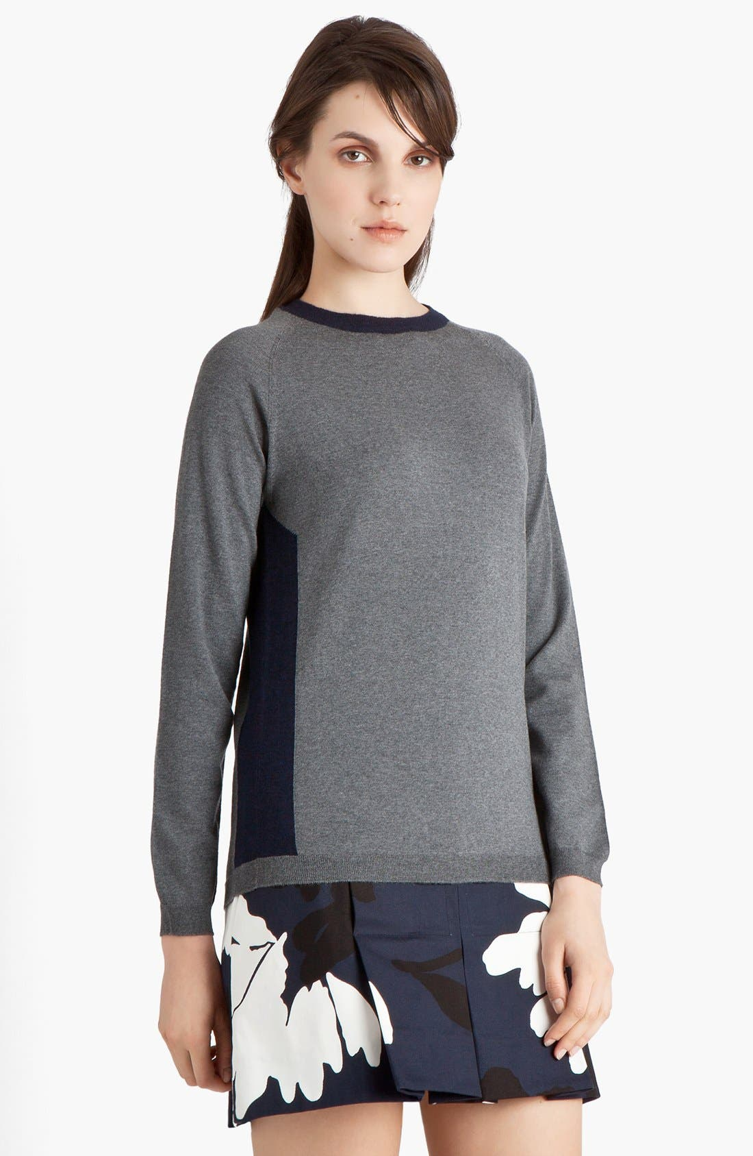Alternate Image 1 Selected - Marni Contrast Side Panel Sweater