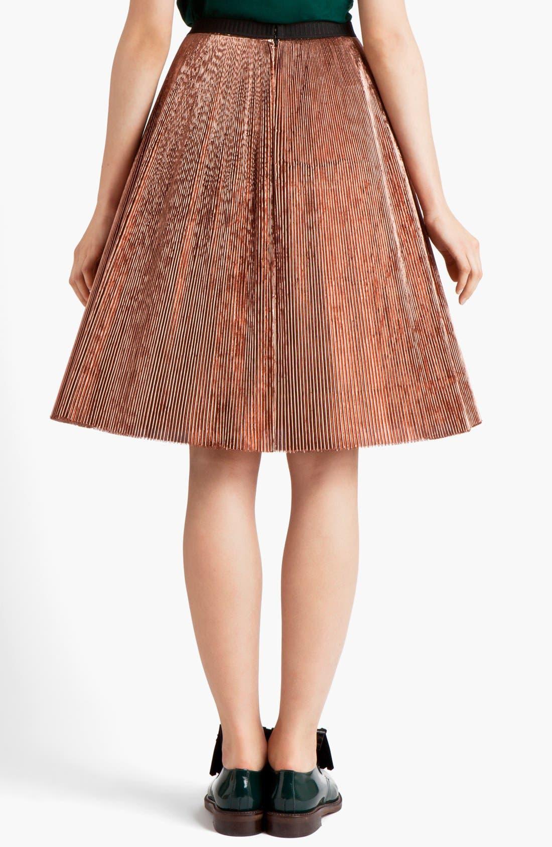 Alternate Image 2  - Marni Knife Pleated Skirt