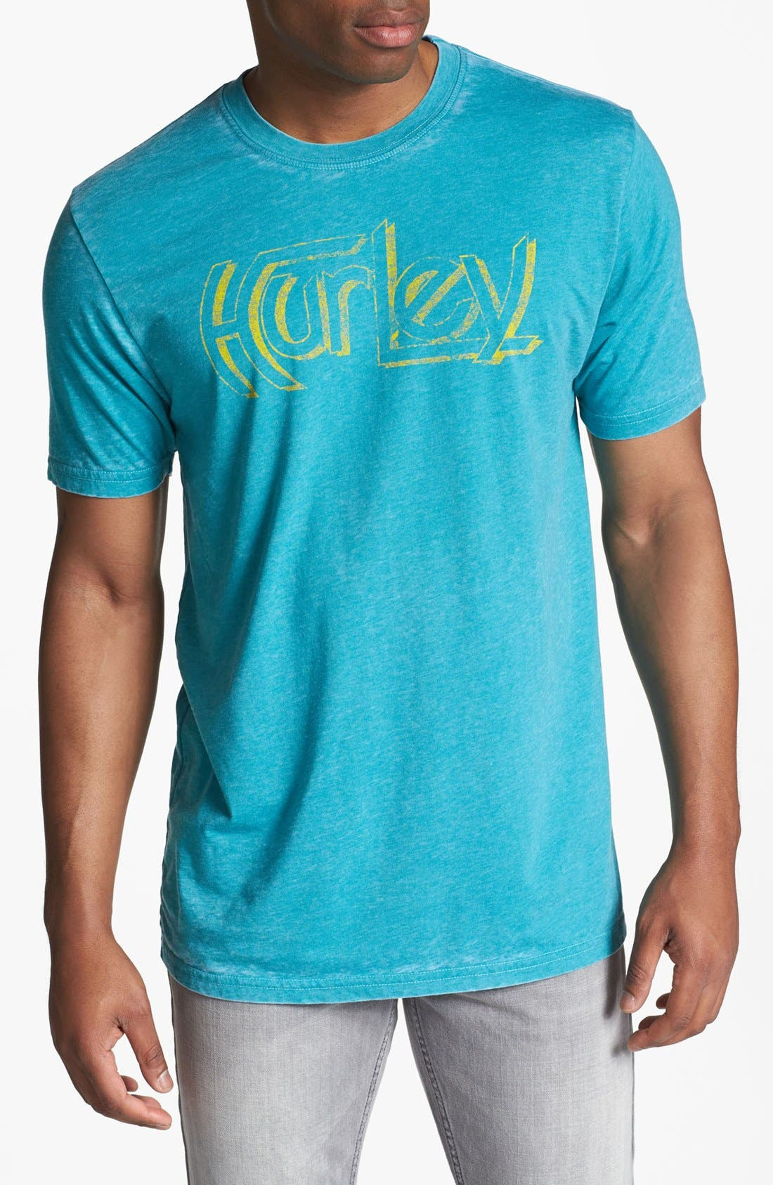 Alternate Image 1 Selected - Hurley Burnout T-Shirt