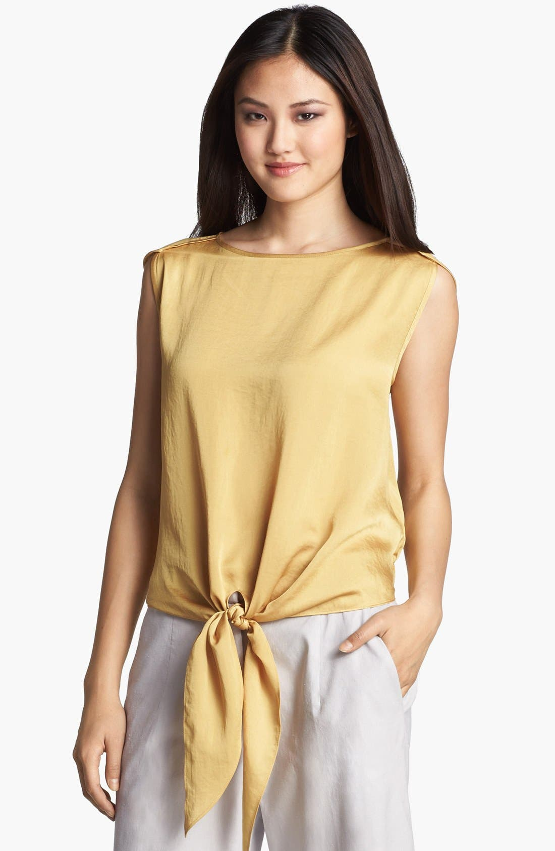 Alternate Image 1 Selected - Kenneth Cole New York 'Sandra' Tie Front Blouse