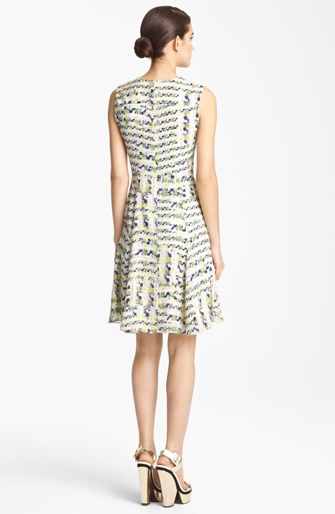 Alternate Image 2  - Erdem Trompe l'Oeil Full Skirt Dress