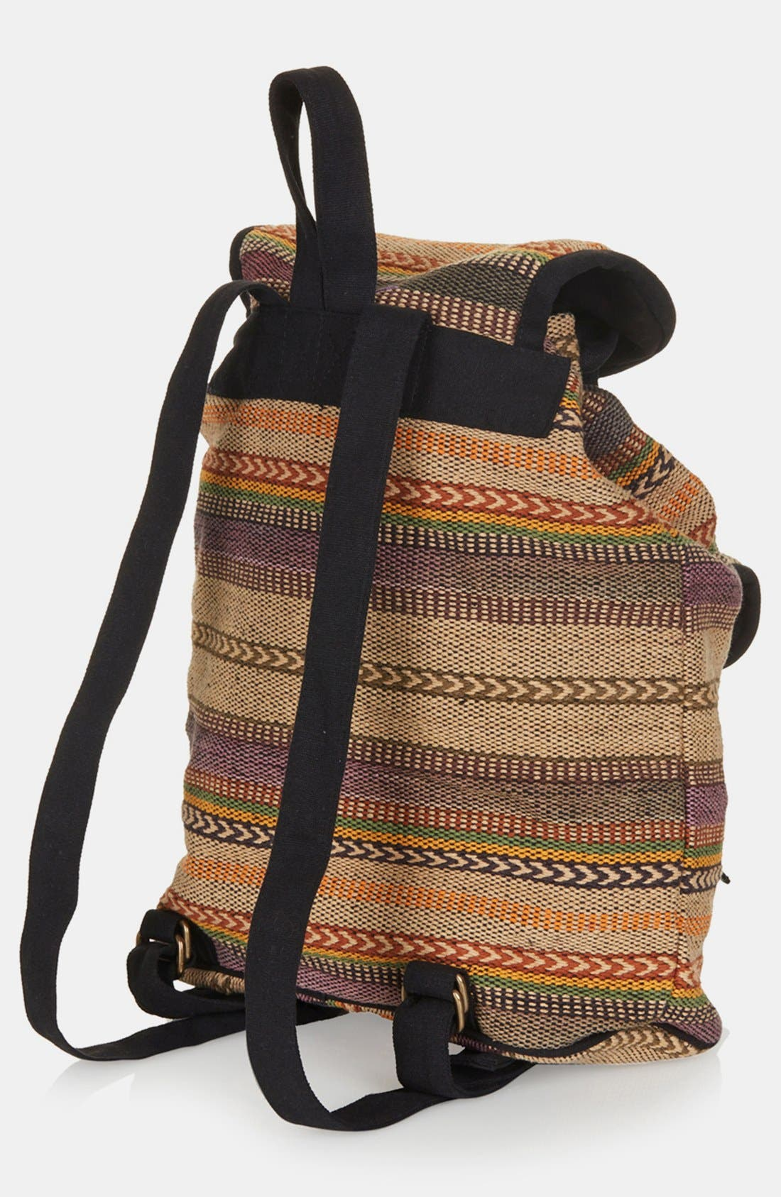 Alternate Image 3  - Topshop 'Aztec Stripe' Backpack