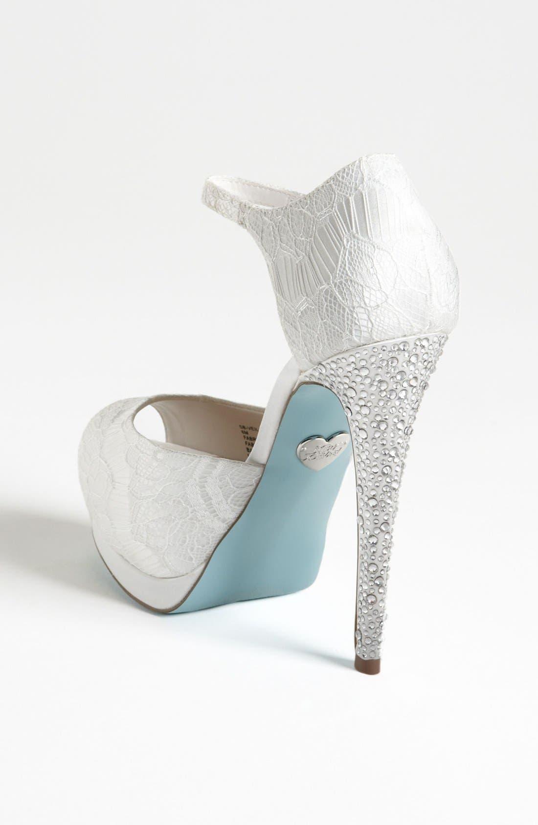Alternate Image 2  - Blue by Betsey Johnson 'Veil' Sandal