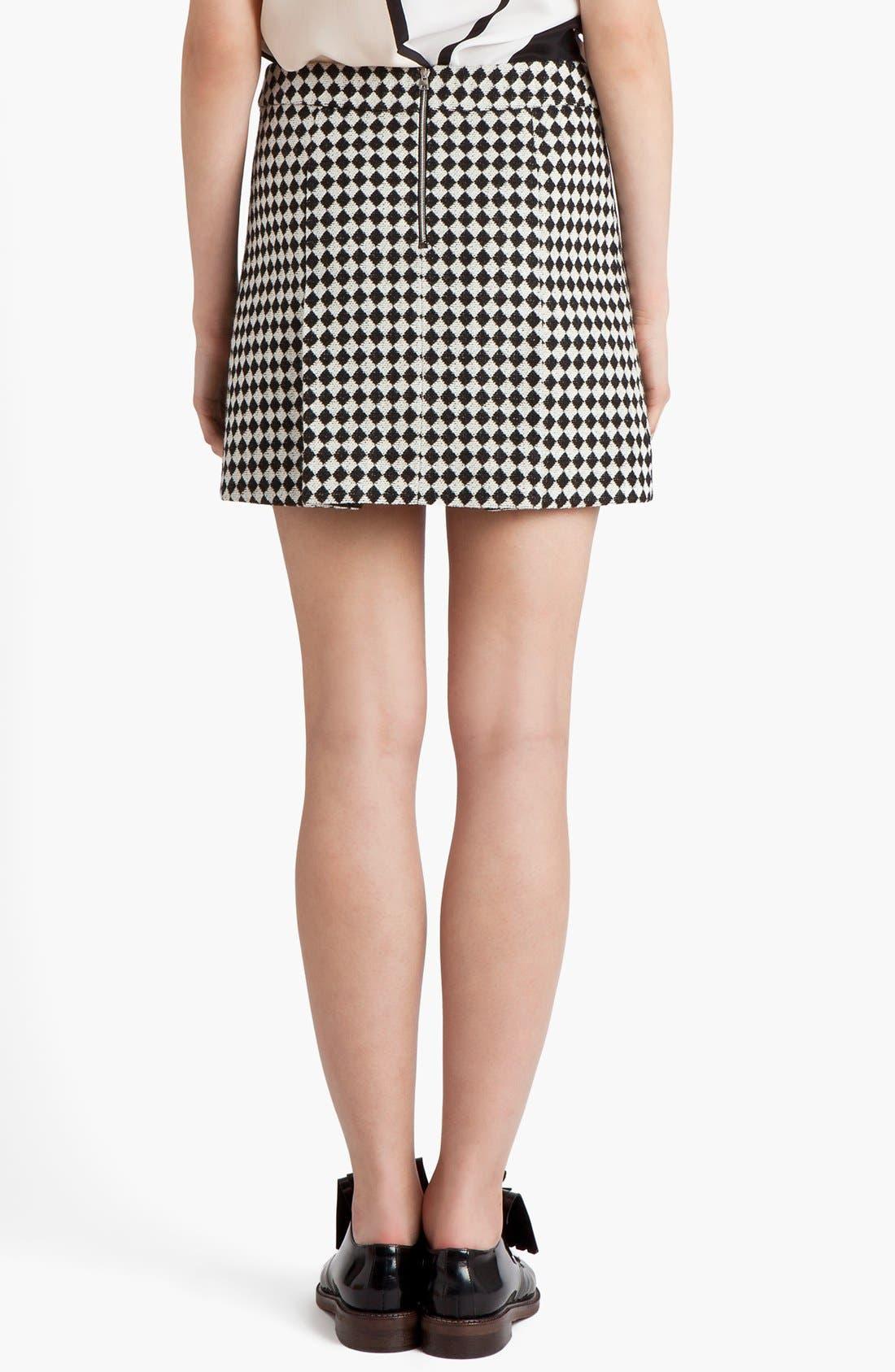 Alternate Image 2  - Marni Checkerboard Jacquard Miniskirt