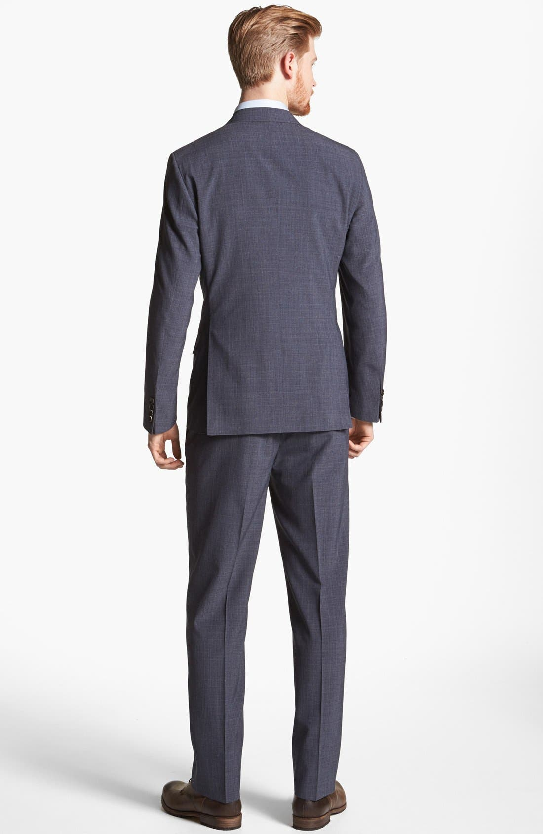 Alternate Image 3  - Billy Reid 'Campbell' Glen Plaid Wool Suit